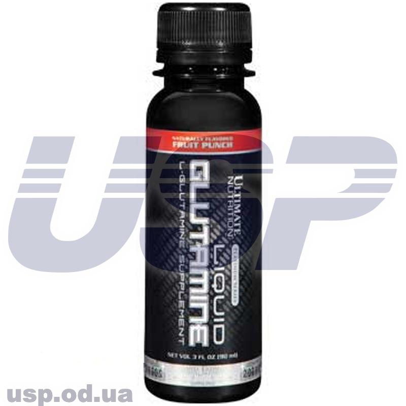 Ultimate Nutrition Glutamine Liquid глютамин аминокислота рост мышечной массы набора веса спортивное питание