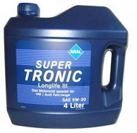 Масло моторное ARAL SuperTronic LongLife III 5w30 4L