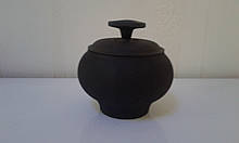 Чавунний горщик, пічної (чавунець), з кришкою. Обсяг -0,75 л