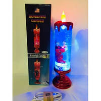 Романтична свічка - світильник( працює від батарейок і від USB )