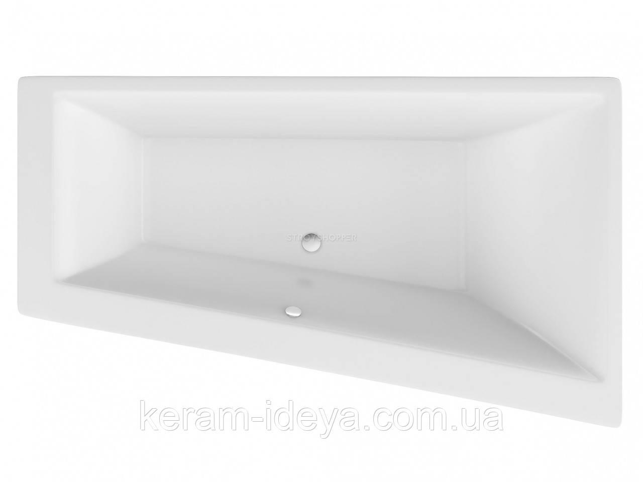 Ванна акриловая Excellent Sfera Slim 170х100см WAEX.SFP17WHS правая