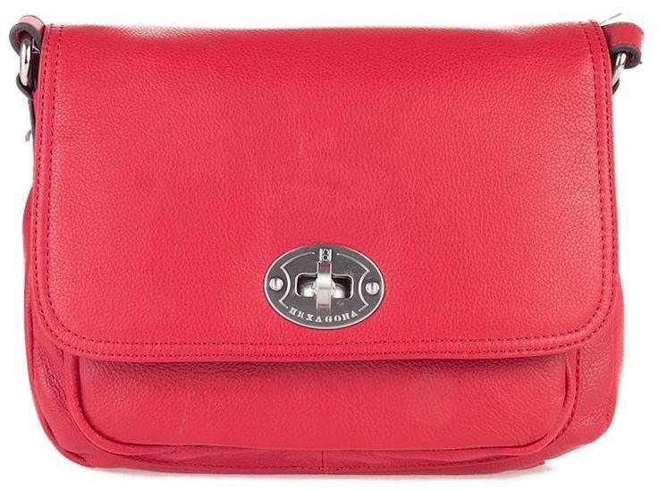 Жіноча шкіряна сумка через плече
