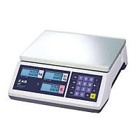 Весы торговые CAS ER JR CB (RS-232)  6/15/30