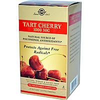 Экстракт дикой вишни-ацеролы, Black Cherry Fruit, Solgar, 1000 мг, 90 капсул