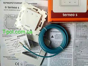 Terneo s терморегулятор с сенсорным управлением, фото 2