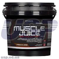 Ultimate Nutrition Muscle Juice Revolution гейнер для роста мышц набора веса спортивное питание