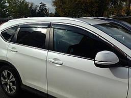 Дефлекторы окон BGT хром молдинг Honda CR-V 2013- BGT