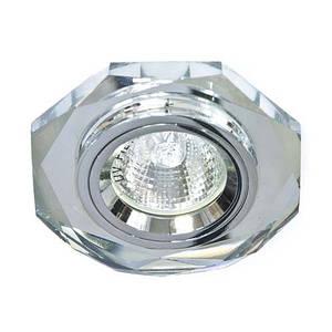Точечный встраиваемый светильник Feron 8020-2 с LED подсветкой