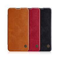 Кожаный чехол Nillkin Qin для Huawei Nova 4 (3 цвета)