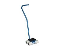 Тележки подкатные скейты SFW03 с поворотной ручкой и диском, грузоподъемность 3 тн