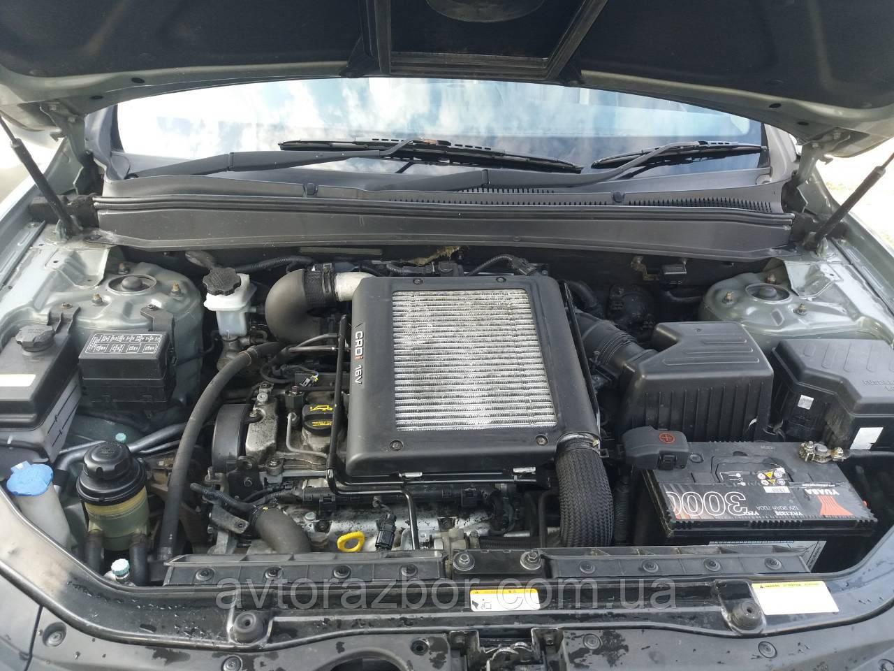 Двигатель двигун мотор hyundai santa fe 2006 2007 2008 2009 2010 хюндай санта фе 2.2