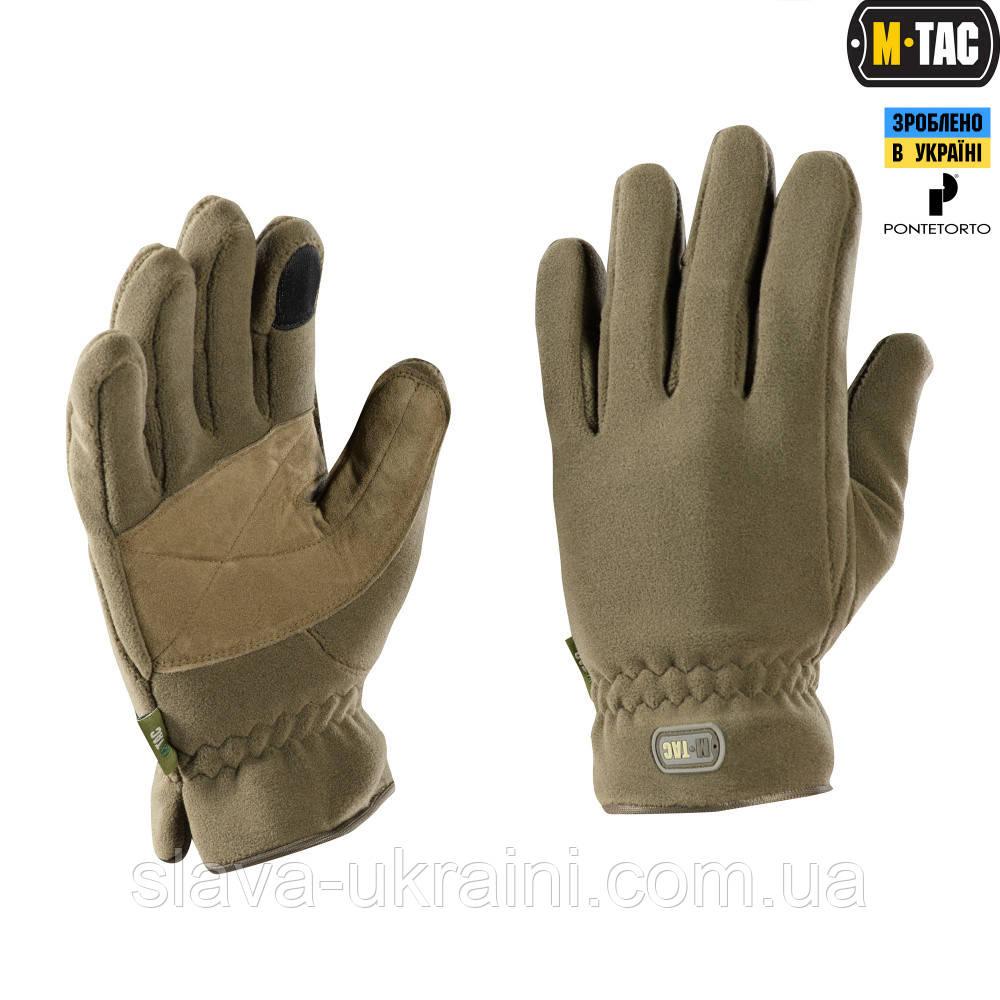 Перчатки M-Tac Winter Premium Fleece Dark Olive