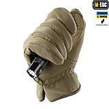 Перчатки M-Tac Winter Premium Fleece Dark Olive, фото 6