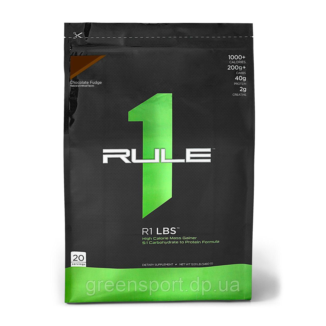 Гейнер Rule One Proteins R1 LBS (5,5 кг) Шоколадная помадка