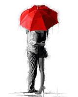 Картина по номерам Влюбленные. Худ. Ричард Макнейл, 40x50 см., Babylon