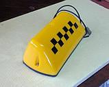 Плафон на крышу шашки для такси , фото 3