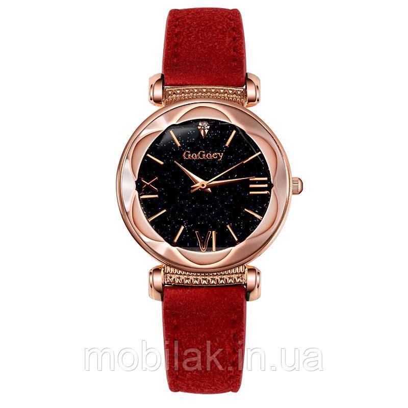 Женские часы фирмы Gogoey (Звездное небо) Все цвета в наличии