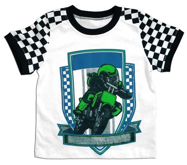 "Футболка для мальчика ""Мотоцикл"""