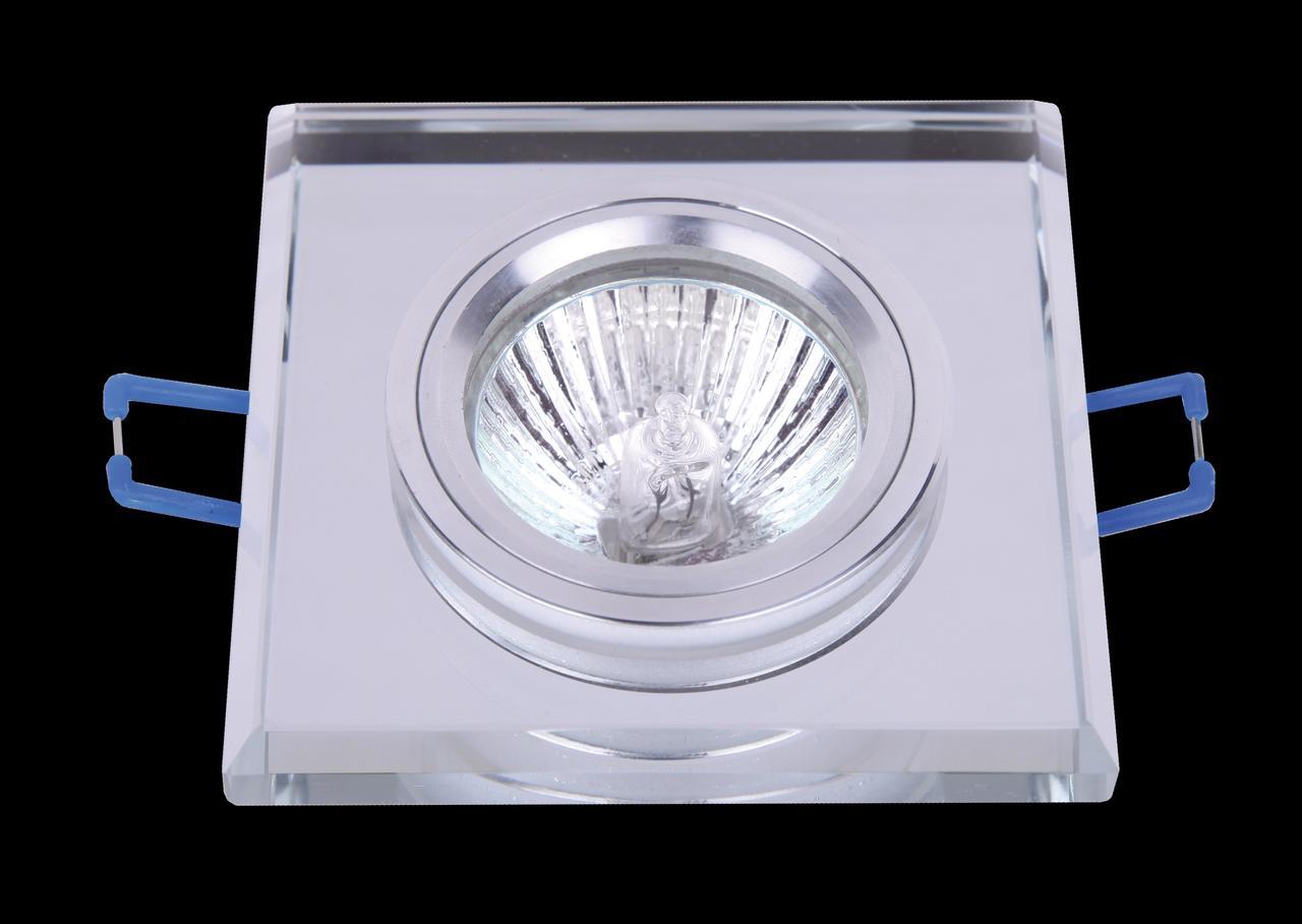 Зеркальный точечный светильник с фаской 705116