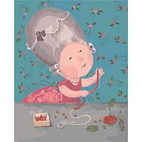 Картина по номерам Моє улюблене намистечко, 40x50 см, Идейка