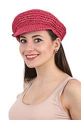Кепка женская плетеная