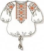 Сорочка женская под вышивку нитками
