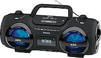 Магнитола с CD/MP3/Bluetooth/USB AEG SR 4359 BT черная