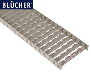 Решітка 145x499 для промислового каналу BLUCHER 150х500 арт. 697.125.150.50