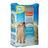 Hartz Home Protection Antibacterial Ttraining Pads for Dogs&Puppies - пеленки для собак и щенков, 50 шт