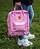 """Рюкзак в стиле Fjallraven Kanken Classic """"Pink"""", фото 5"""