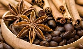 Алмазная вышивка Ароматный кофе с пряностями