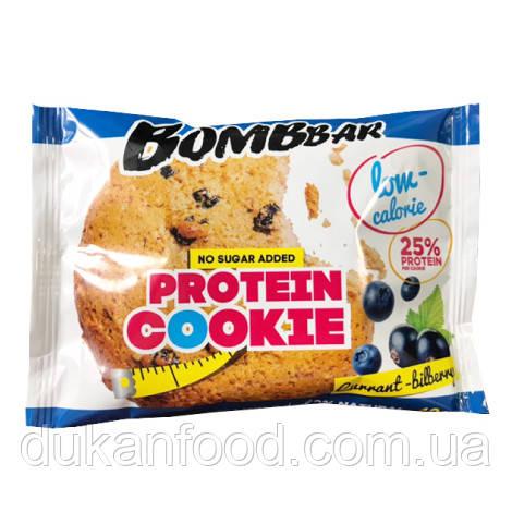 BomBBar Протеиновое печенье СМОРОДИНА-ЧЕРНИКА