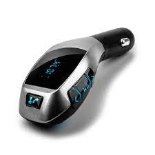 Автомобильный FM-модулятор трансмиттер с Bluetooth X5