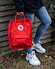 """Рюкзак в стиле Fjallraven Kanken Classic """"Red"""", фото 2"""