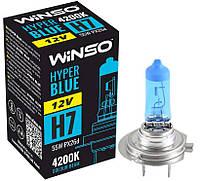 """Автомобильная галогенная лампа """"Winso"""" H7 Hyper blue 4200K (12V)(55W)"""