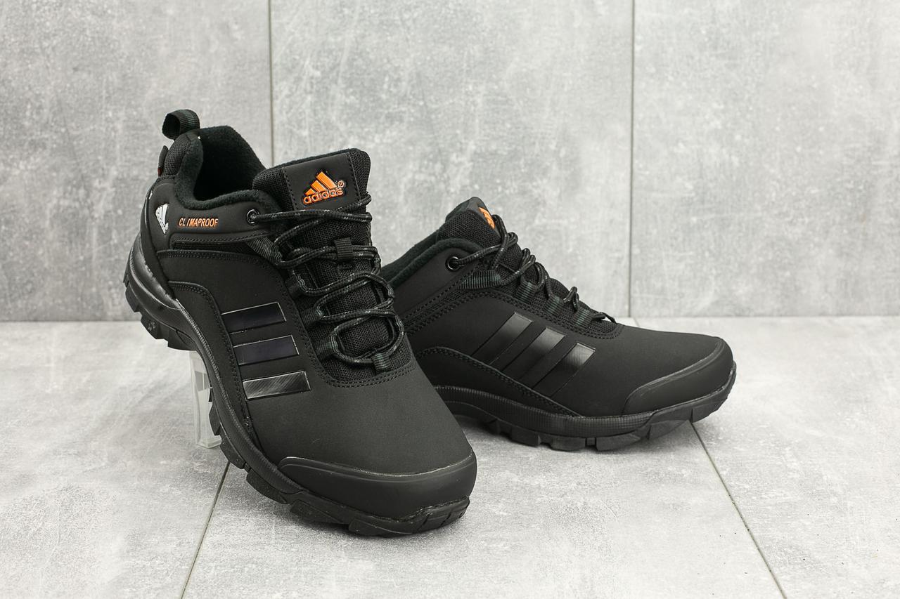 Мужские кроссовки искусственная кожа весна/осень черные Classica МА 803 -3
