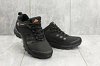 Мужские кроссовки искусственная кожа весна/осень черные Classica МА 803 -3, фото 1