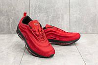 Мужские кроссовки текстильные весна/осень красные Ditof A 345 -8, фото 1