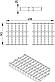 Решітка 145x499 для промислового каналу BLUCHER 150х500 арт. 697.127.150.50, фото 2