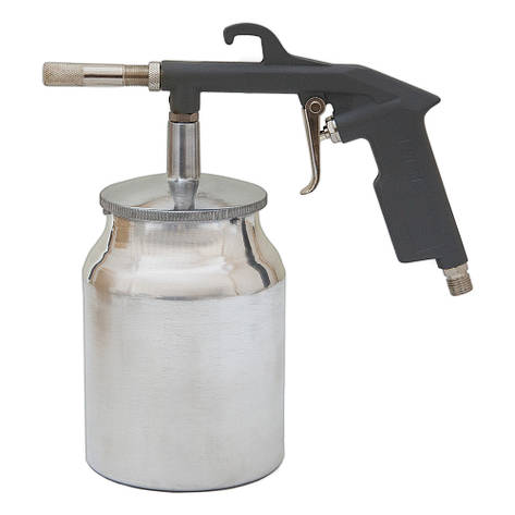 Пневмопистолет пескоструйный (мет. бак) Sigma (6846021), фото 2
