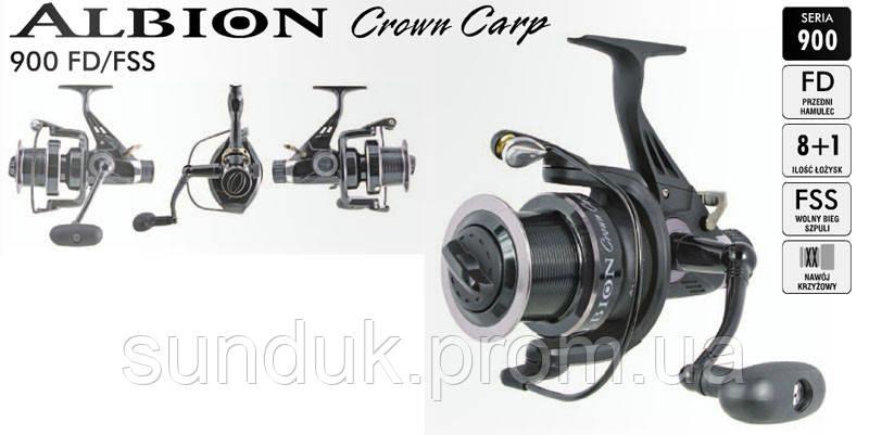 Карповая катушка Konger Albion Crown Carp 980FD