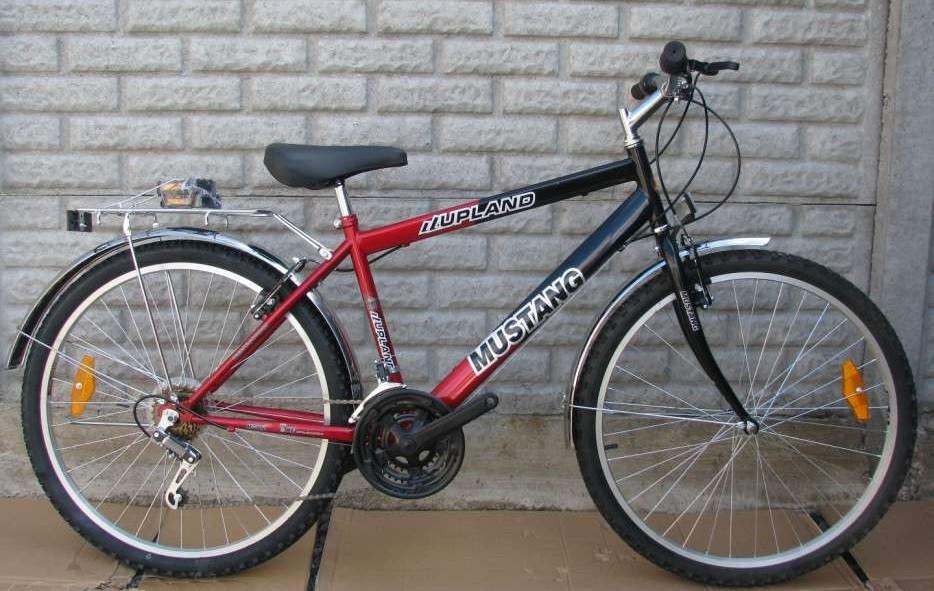 фото велосипед мустанг