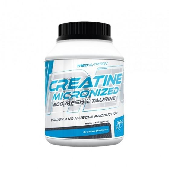 Креатин Trec Nutrition Creatine Micronized 200 mesh + Taurine 400g