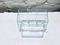 Подставка для пилочек и кистей (прозрачная)