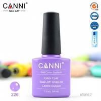 Гель-лак CANNI № 226 (светлый лиловый с шиммером), фото 1