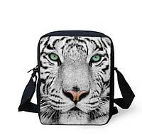 3D сумка с белым тигром