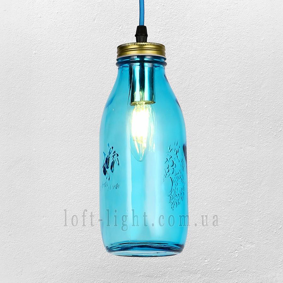 Люстра  подвес  лофт  56-PR5520-1 BLUE