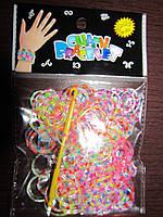 Резинки для плетения браслетов, крючок, клипсы
