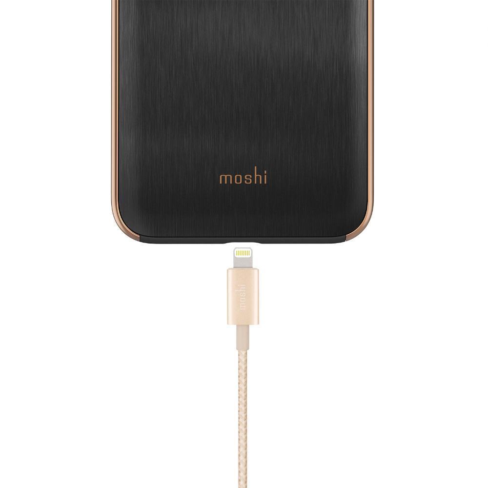 Кабель Moshi integra Lightning gold