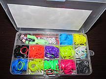 Набор для плетения браслетов, резинки, крючок, рогатка, клипсы